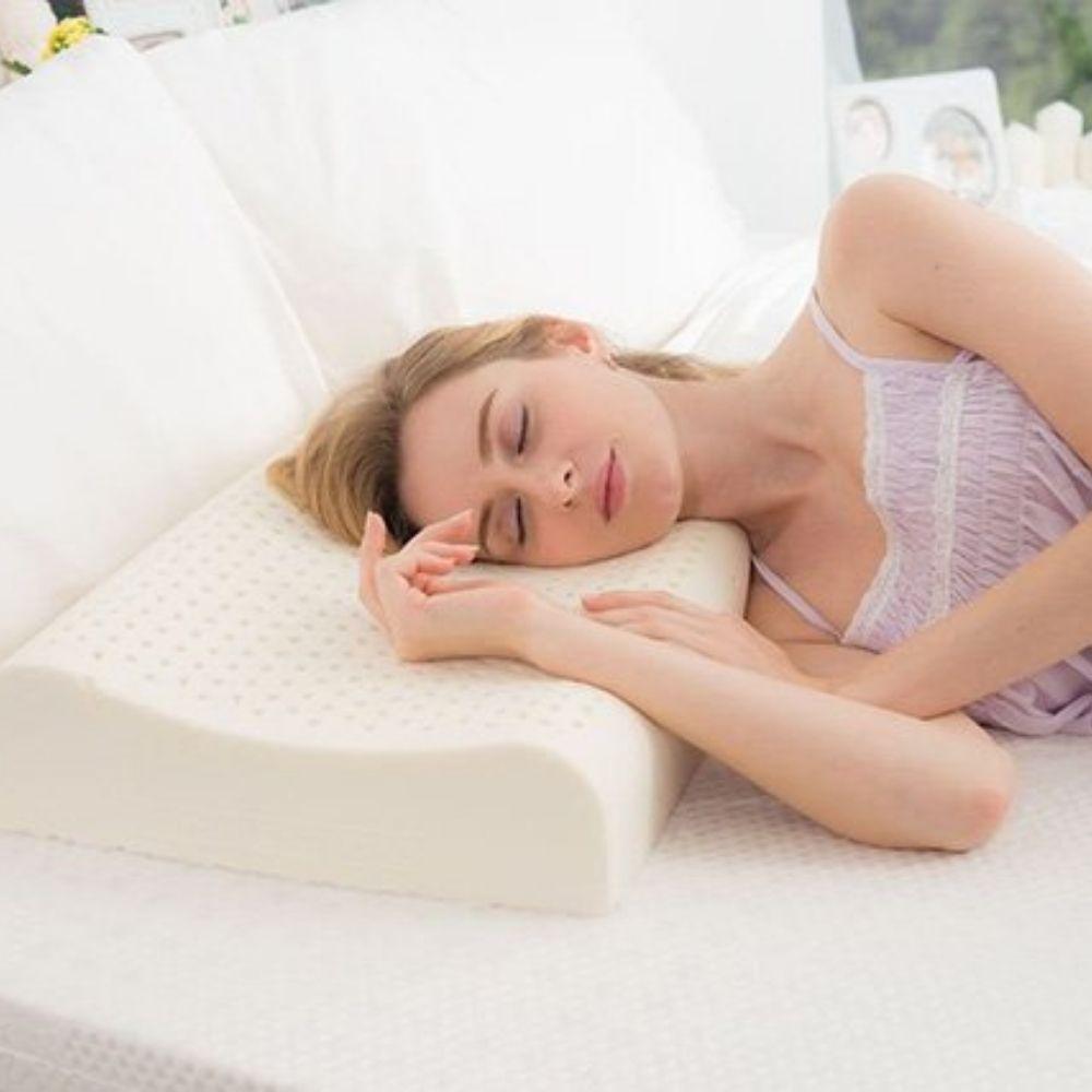 latex contour pillow